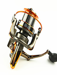 cheap -Spinning Reel 4.6/1 Gear Ratio+13 Ball Bearings Hand Orientation Exchangable Bait Casting / General Fishing - AT8000