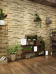 cheap -3D Home Decoration Contemporary Wall Covering, PVC/Vinyl Material Adhesive required Wallpaper, Room Wallcovering