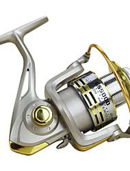 cheap -Baitcasting Reel 5.5:1 Gear Ratio+12 Ball Bearings Hand Orientation Exchangable Sea Fishing / Bait Casting / Freshwater Fishing - Baitcast Reels