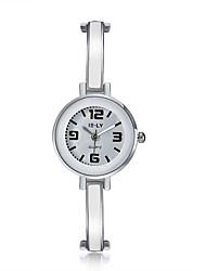 cheap -jewelora Women's Fashion Watch Dress Watch Quartz Silver Shock Resistant Casual Watch Analog Vintage - Silver
