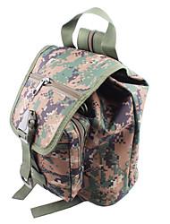 cheap -6 L Shoulder Messenger Bag Commuter Backpack Multifunctional Outdoor Camping / Hiking Oxford Digital Jungle