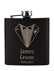 cheap -Personalized Stainless Steel Barware & Flasks / Hip Flasks Groom / Groomsman / Couple Wedding / Birthday / Valentine