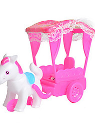cheap -Dollhouse Accessory Carriage Plastic Cartoon Toddler Girls' Toy Gift