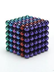 Недорогие -1 pcs Магнитные игрушки Магнитные шарики Конструкторы Сильные магниты из редкоземельных металлов Неодимовый магнит Взрослые Мальчики Девочки Игрушки Подарок