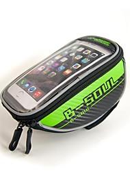cheap -B-SOUL 1.5L Cell Phone Bag Bike Frame Bag Top Tube Bike Handlebar Bag Touch Screen Multifunctional Reflective Bike Bag Oxford Bicycle Bag Cycle Bag iPhone X / iPhone XR / iPhone XS Cycling / Bike