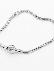 cheap -Women's Chain Bracelet Ladies Fashion Alloy Bracelet Jewelry Silver For Daily