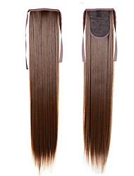 cheap -long ponytail extentions 22inch 55cm 100g 16 synthetic drawstring ponytail long silky straight ponytail