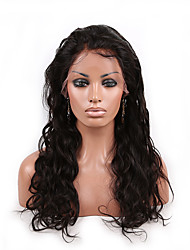 cheap -Human Hair Unprocessed Human Hair Glueless Lace Front Lace Front Wig style Brazilian Hair Body Wave Wig 130% Density with Baby Hair Natural Hairline African American Wig 100% Hand Tied Women's Short