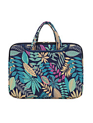 "cheap -14.3"" 15.6"" Laptop Bag Briefcase Handbags Fabrics Flower for Macbook/Surface/HP/Dell/Samsung/Sony Etc"
