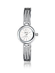 cheap -jewelora Women's Fashion Watch Dress Watch Quartz Silver Shock Resistant Analog Charm Vintage Casual - Silver