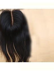 cheap -PANSY Hair weave Human Hair Extensions Straight / Classic Hair Piece Human Hair Brazilian Hair Women's