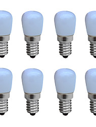 cheap -8pcs 1 W LED Candle Lights 100-150 lm E14 B 1 LED Beads COB Decorative Warm White Cold White 220-240 V / RoHS / CCC