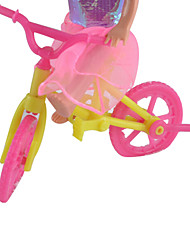 cheap -Doll Accessories Small Lori Big Kit Bike Ocean Princess Small Play House Toy Carts Kelly