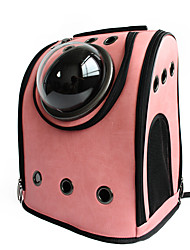 cheap -Cat Dog Carrier & Travel Backpack Astronaut Capsule Carrier Pet Carrier Portable Breathable Solid Colored Black Yellow Pink