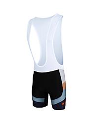 cheap -ILPALADINO Men's Cycling Bib Shorts Bike Bib Shorts Bottoms Windproof Breathable 3D Pad Sports Lycra Black Clothing Apparel Bike Wear / Quick Dry / Anatomic Design / Limits Bacteria / High Elasticity