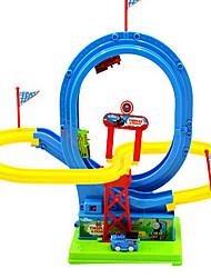 Недорогие -электрический рельс игрушка автомобиль головоломка