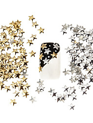 cheap -100pcs-best-price-set-5mm-silver-and-golden-star-metal-studs-manicure-nail-art-3d-decorations