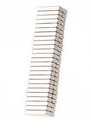 Недорогие -50 pcs 18*5*3mm Магнитные игрушки Сильные магниты из редкоземельных металлов Неодимовый магнит Прямоугольный магнит Магнит Игрушки Подарок