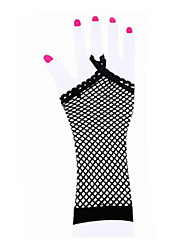 cheap -Dance Accessories Dance Glove Women's Performance Nylon / Spandex Criss-Cross Gloves