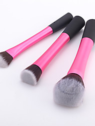 cheap -Professional Makeup Brushes Makeup Brush Set 3pcs Synthetic Hair / Artificial Fibre Brush Makeup Brushes for Makeup Brush Set