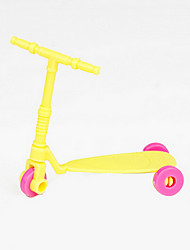 cheap -Doll accessories Toy Car Scooter Cartoon Plastic 1 pcs Kid's Toddler Toy Gift