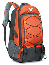cheap -40 L Hiking Backpack Multifunctional Waterproof Outdoor Camping / Hiking Cycling / Bike Orange Green Blue