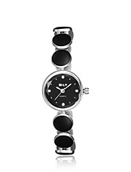 cheap -jewelora Women's Fashion Watch Dress Watch Quartz Ceramic Black Shock Resistant Analog Vintage - Silver / Black