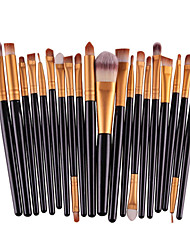 cheap -Professional Makeup Brushes Makeup Brush Set 20pcs Eco-friendly Professional Full Coverage Plastic Makeup Brushes for Eyeshadow Brush Makeup Brush Set
