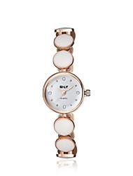 cheap -jewelora Women's Fashion Watch Dress Watch Quartz Ceramic Rose Gold Shock Resistant Analog Vintage - Rose Gold