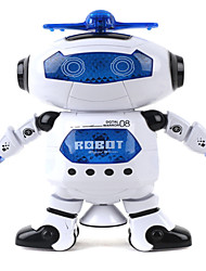 cheap -Robot LED Lighting 360° Rotation Cute Singing Dancing Walking Multi Function Music with Screen Adults' Boys' Girls' 1 pcs Toy Gift