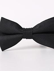 Недорогие -черный клетчатые галстук бабочка