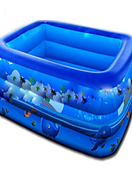 cheap -Water Play Equipment Kiddie Pool Inflatable Pool Intex Pool Inflatable Swimming Pool Kids Pool Water Pool for Kids Plastic PVC(PolyVinyl Chloride) Summer Swimming Kid's Adults Kids Adults'
