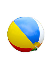 cheap -colored inflatable ball children play water6 color beach toys ball