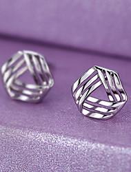 cheap -Women's Stud Earrings Fashion Cute Sterling Silver Earrings Jewelry Silver For Party Daily