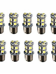 cheap -10pcs BA15S(1156) Car Light Bulbs 3 W SMD 5050 250 lm 13 LED  Car Led Brake Tail Lamps 13SMD Auto Rear Reverse Bulbs DC 12V Turning Lights