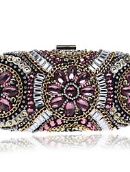 abordables -Femme Bijoux acryliques Polyester Pochette / Protection Géométrique Noir / Chair / Rose