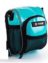 cheap -B-SOUL 0.5 L Bike Handlebar Bag Multifunctional Waterproof Moistureproof Bike Bag PU Leather Bicycle Bag Cycle Bag Cycling / Bike