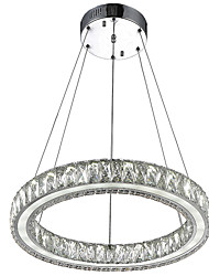 cheap -Chandelier Ambient Light Electroplated Metal Crystal, LED 110-120V / 220-240V Warm White / Cold White Bulb Included / LED Integrated