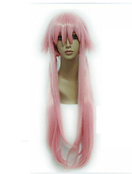 cheap -Cosplay Costume Wig Synthetic Wig Straight Straight Wig Pink Long Pink Synthetic Hair Women's Pink