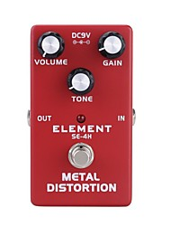 cheap -Guitar Effects Distortion Simulation Bass High pitch Musical Instruments Fitting Aluminum