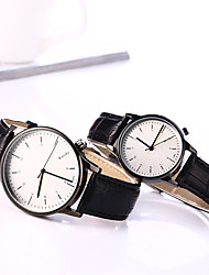 cheap -Women's Wrist Watch Quartz Leather Black / Brown Casual Watch Analog Ladies Charm Fashion - Brown Black / White Brown / White One Year Battery Life / Tianqiu 377