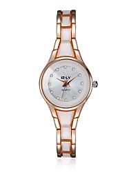 cheap -jewelora Women's Fashion Watch Dress Watch Quartz Rose Gold Shock Resistant Analog Vintage - Rose Gold