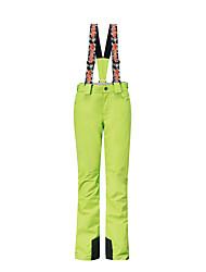 Недорогие -GSOU SNOW Жен. Лыжные брюки Катание на лыжах Зимние виды спорта Сохраняет тепло Водонепроницаемость С защитой от ветра Полиэстер Брюки Нижняя часть Одежда для катания на лыжах / Дышащий / Зима