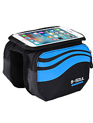 cheap -B-SOUL Cell Phone Bag Bike Frame Bag Top Tube Touch Screen Shockproof Phone Holder Bike Bag Nylon Bicycle Bag Cycle Bag iPhone X / iPhone XR / iPhone XS Cycling / Bike / iPhone XS Max