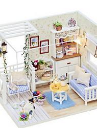 abordables -CUTE ROOM Jeu de Rôle Kit de Maquette A Faire Soi-Même Meuble Maison En bois Fille Jouet Cadeau