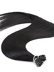 cheap -Neitsi Fusion / I Tip Human Hair Extensions Straight Remy Human Hair / Human Hair