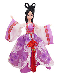 cheap -Doll Clothes Girl Doll Costume Skirt Plastic Chinese Style Toddler Girls' Toy Gift