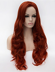 cheap -the new wig anime characters cos 30 inch volume classification in the wine red hair Halloween