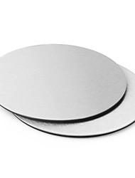 Недорогие -1шт круглые подставки из нержавеющей стали чашки коврик стол аксессуары для украшения панели инструментов