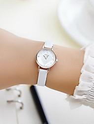 Недорогие -Для пары Наручные часы Кварцевый Черный / Белый / Красный Повседневные часы Имитация Алмазный Аналоговый Дамы Кулоны Мода Нарядные часы - Черный Коричневый Красный